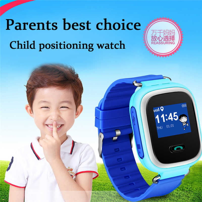 LIGE Children Positioning Watch Child Smart anti-lost wristWatch LBS tracker SOS call smartwatch for IOS Android smartphone