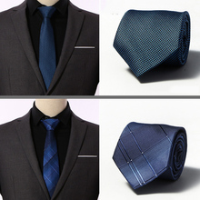 Classic 8 Cm Luxury Striped Business Tie for Man 100% Silk Neck Men Suit Cravat Wedding Party Necktie
