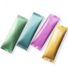 100pcs/bag Small Colored Aluminum Foil Powder Packaging Bag Open Top Coffee/Fruit/Milk Tea Powder Bag Gift Foil Bags(China)