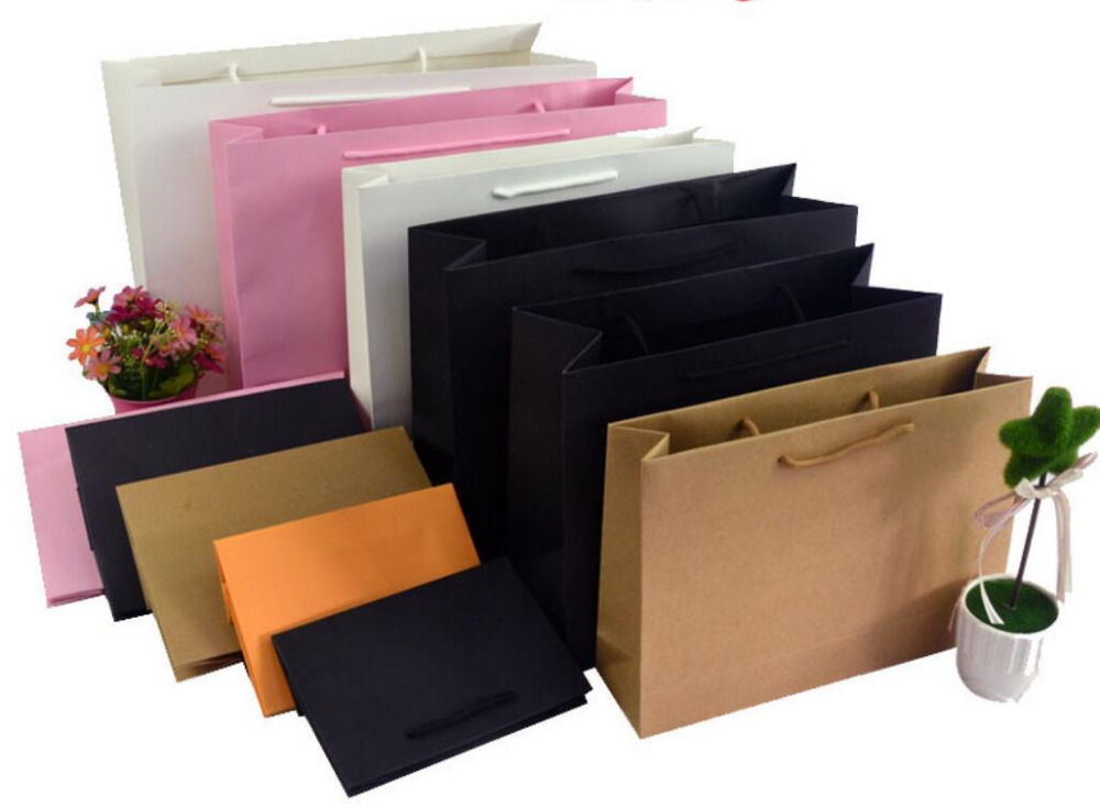 Online Buy Wholesale black paper shopping bags from China black ...