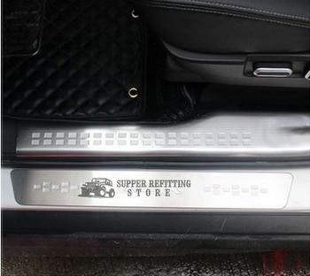 Original 8pcs Door Sill Scuff Plates For Mitsubishi ASX 2010 2011 2012 2013 2014