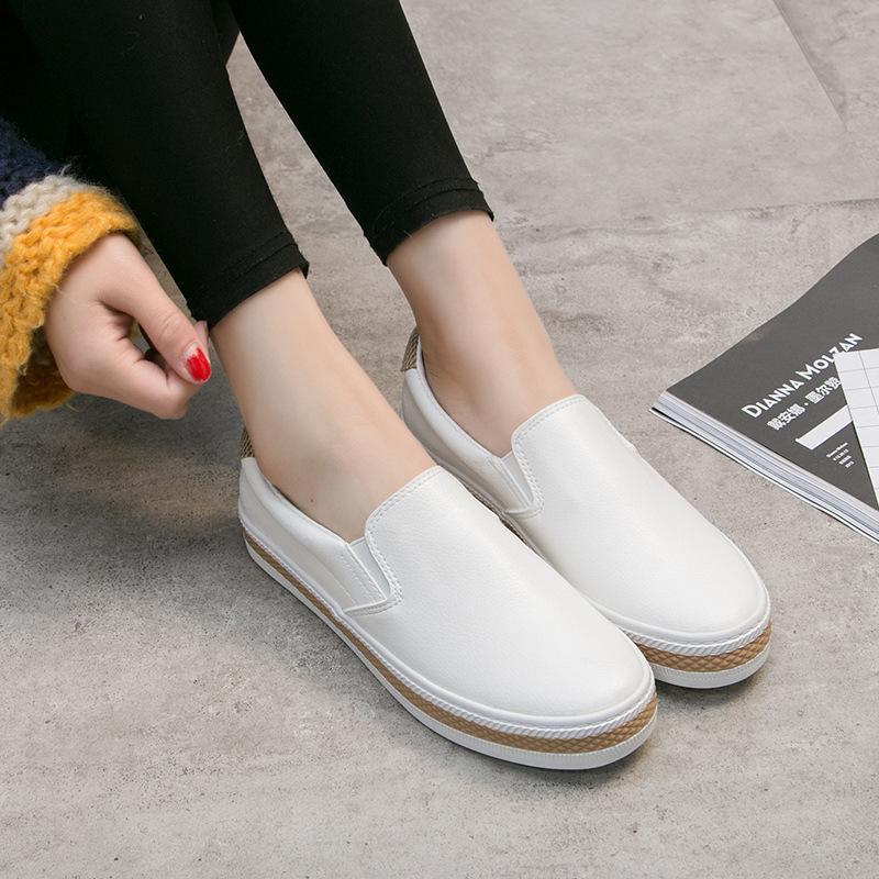 MFU22 Small white shoes casual spring and autumn shoes wholesale 2019 female new wholesale Korean student shoes JIANWMFU22 Small white shoes casual spring and autumn shoes wholesale 2019 female new wholesale Korean student shoes JIANW