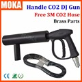 CO2 DJ Gun Fogger Handheld CO2 Fog Gun Musical Instrument Stage Effect CO2 Cryo Gun