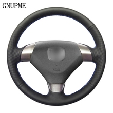 Covers-Wrap Car-Steering-Wheel 2003-2007 Honda Accord 7 Hand-Sewing Artificial-Leather