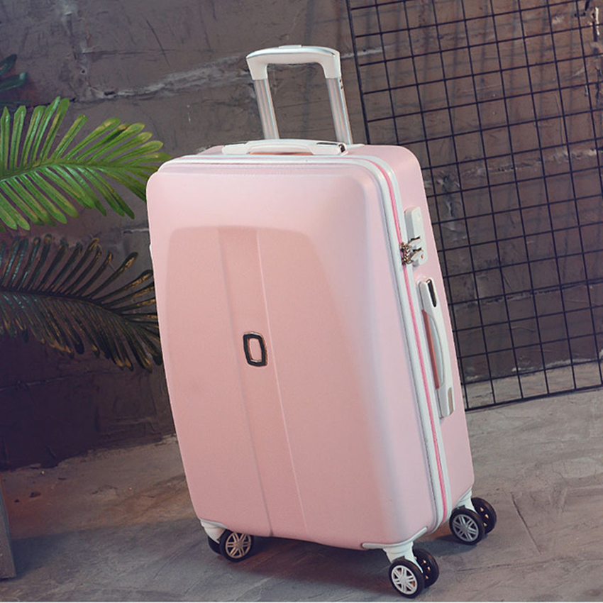 New Arrival!20inches abs hardside case travel luggage bag on universal wheels,men/women trolley luggage,green luggage