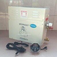 12KW 380V Home Use Steam Machine Steam Generator Sauna Dry Stream Furnace Wet Steam Steamer Digital
