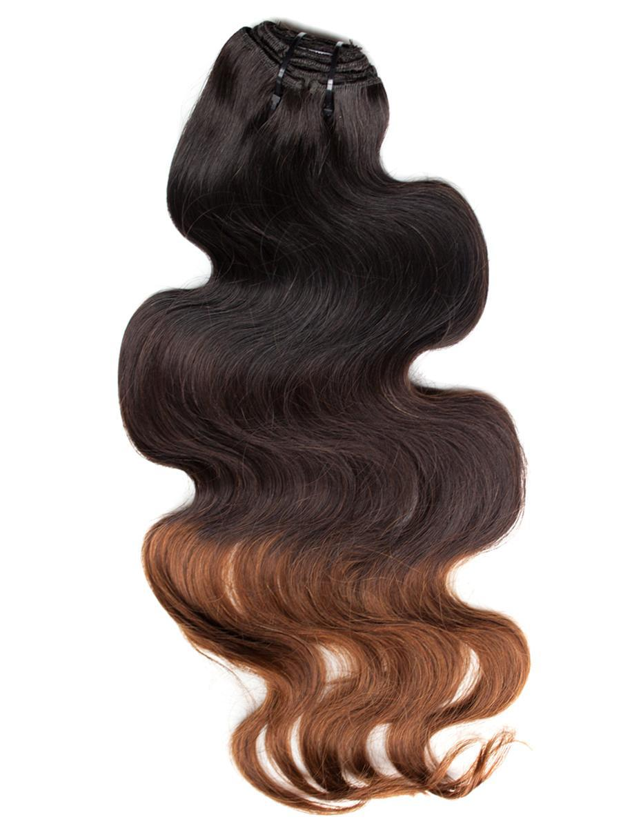 10 32 Inch Body Wave Three Tones Ombre Hair Weave In Ombre Color 1b