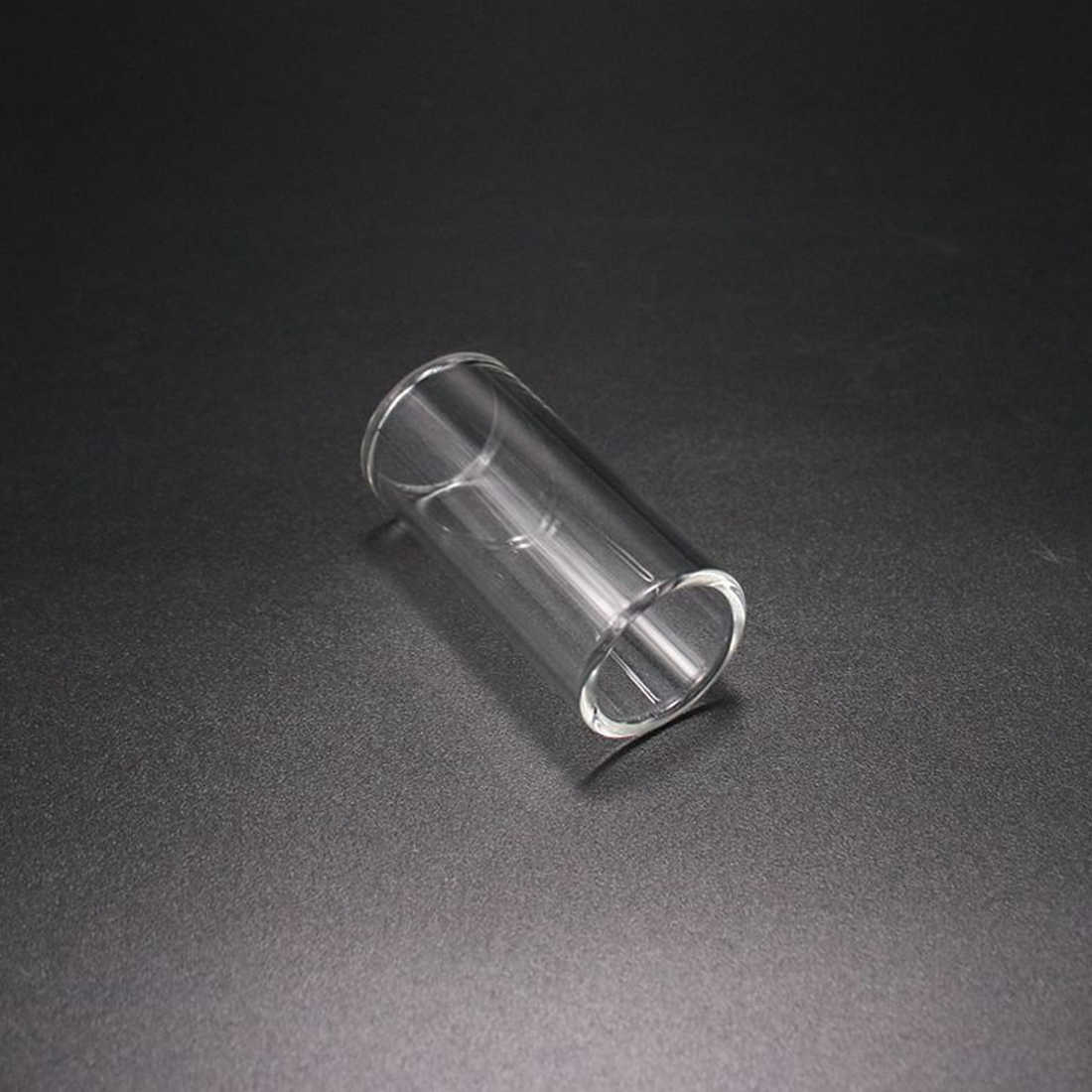 18mm/22mm portaobjetos de vidrio accesorios de guitarra de deslizadores de 60mm de longitud de guitarra de cuna