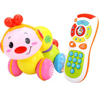 Baby Toys Crawling Insect Toy Combination Music Phone Phone Children Toddler 6 Months 0 1 Years