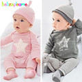 3PCS/0-18Months/Spring Autumn Baby Boys Girls Clothing Set Stripe Red T-shirt+Pants+Hat Newborn Tracksuits Infant Clothes BC1347