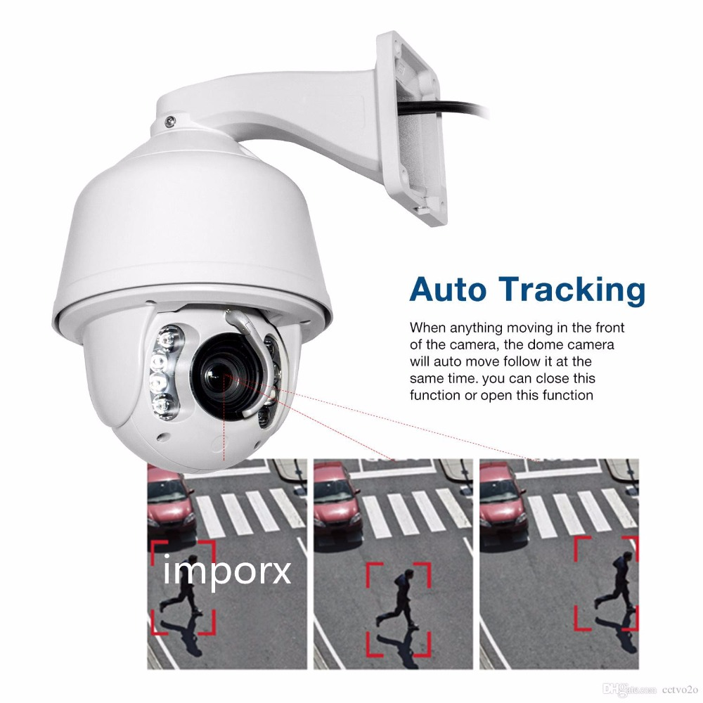 1080P High speed dome 360 CCTV Camera 2MP Auto tracking PTZ ip camera 20x zoom CCTV