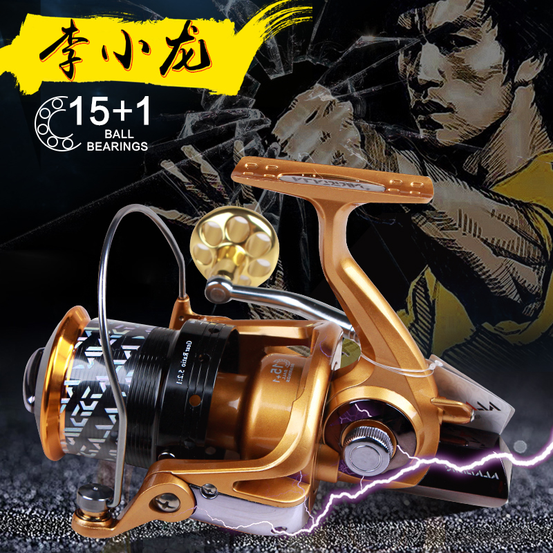 Risn MM7000  15+1BB Full Metal Surf Casting Reel Long Shot Sea Fishing Reels Cast Wheel Spinning Fish Reel new type superior metal arm 13 1bb 4000 7000 series surf spinning fishing reels big long shot casting fly sea wire cup wheels