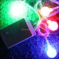 Factory Wholesale Direct LED String 40led 6m110V 220V Decoration Light Bulb String Size Dia 18mm For