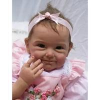 New Design Silicone Reborn Dolls 20''/50 cm,Fashion Lifelike Baby Reborn Dolls Toys for Children Birthday Gift