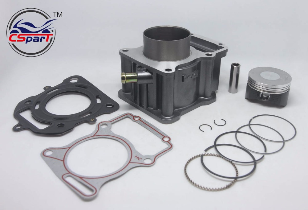 67mm Cylinder Piston Ring Gasket Kit Water 250CC Zongshen Shineray Bashan Taotao Dirt Bike Pit Bike ATVs Quad goofit cylinder kit for honda elite ch250 helix cn250 baja hammerhead roketa zongshen chinese water cooled 250cc atv dirt bike