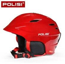 POLISI Men Women Winter Ski Skiing Snowboard Helmet Equipment Men Women Outdoor Sport Snow Skate Saftly Helmet лыжные очки polisi p818