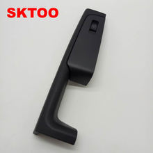 SKTOO For Skoda Superb door handle, front right door armrest box, passenger side inner handle frame, the lifter switch box black