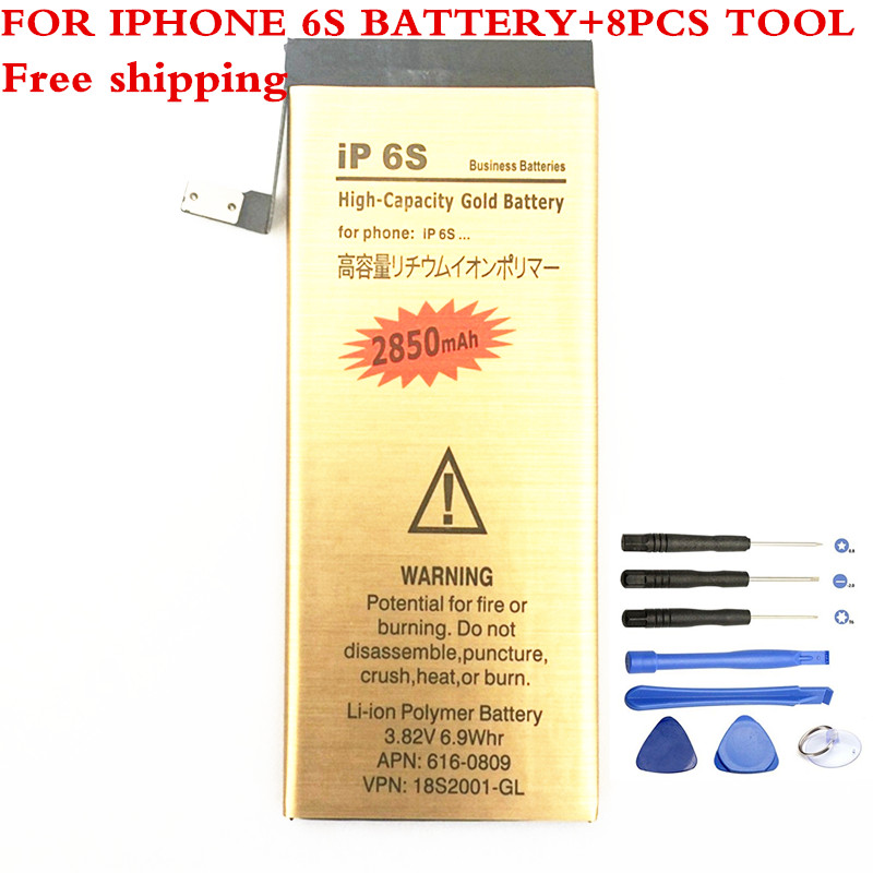 Batteries-Bateria Li-Ion iPhone Replacement Apple for 6s Accumulator Internal with Tools
