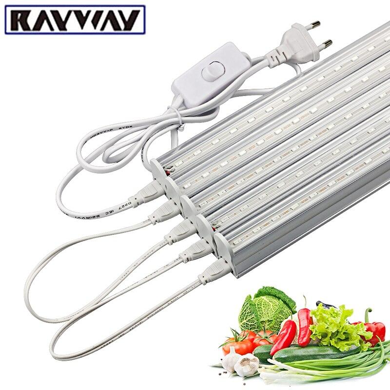 50 cm LED Wachsen Licht Pflanzen phytolamp Wachsen Zelt SMD 5730 Rot 660nm Blau 460nm Wachstum Licht streifen für blume Aussaat