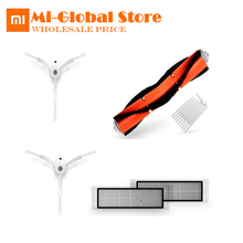 Xiaomi Robot Cleaner Vacuum Replacement Part Kits Cleaning Brush X2PC, HEPA Filter X2PC, Main Brush X1PC, Cleaning Tool X1PC