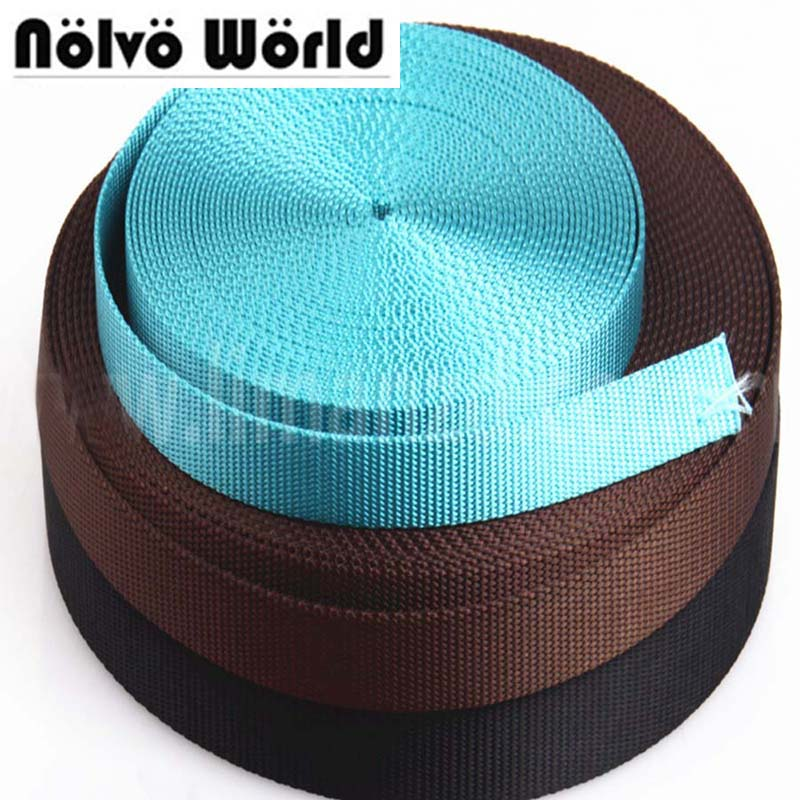Obliging 10 Yards 20mm 3/4 Inch 1.9mm Weaving Tape For Diy Bag Strap,polypropylene Waist Belt,packed Belt,backpack Strap,seat Belt Luggage & Bags