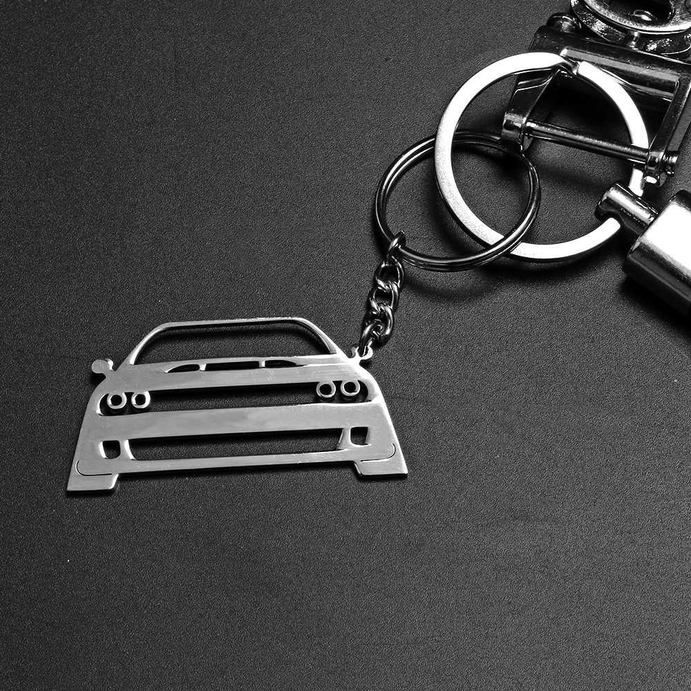 Armsky Мода 3D украшение Стилизация автомобиля аксессуары 304 из нержавеющей стали автомобильный брелок для Dodge Challenger SRT Hellcat энтузиастов