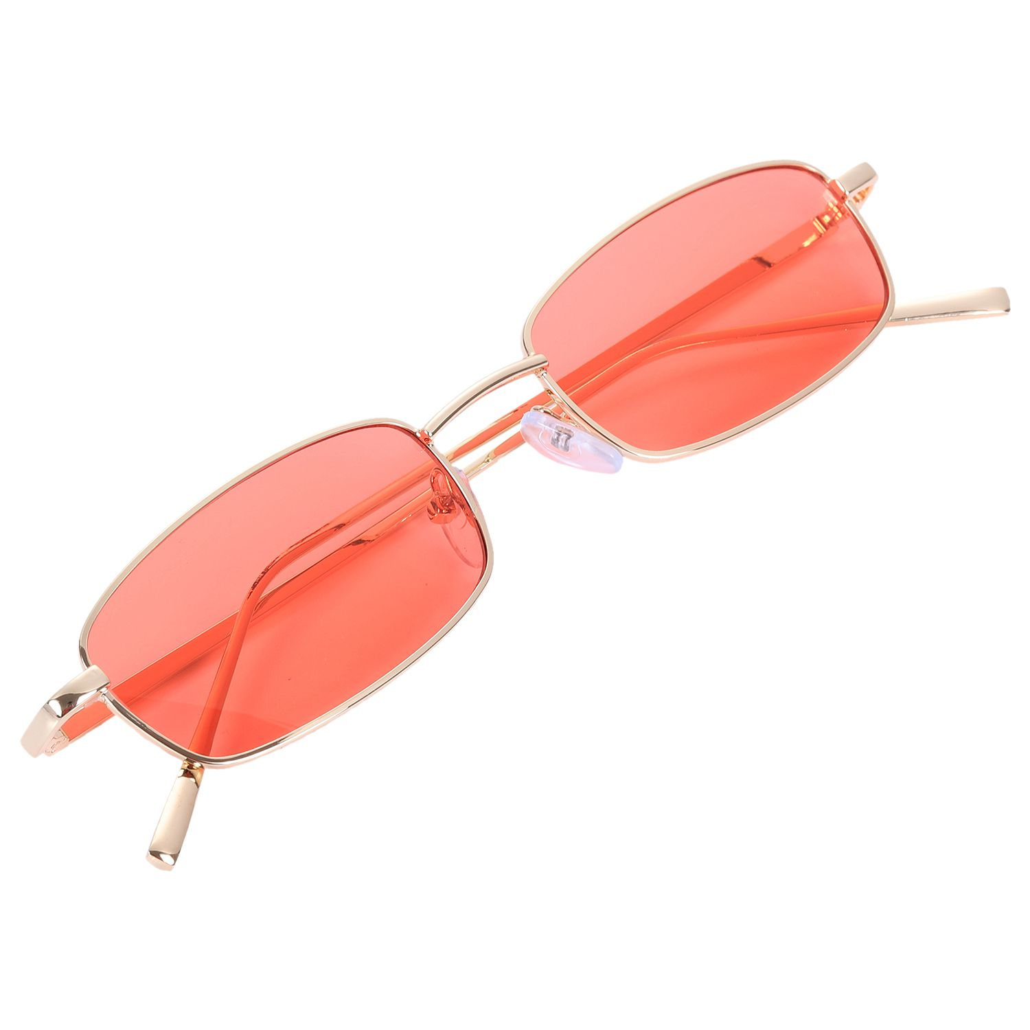 Vintage  Women Men Rectangle Glasses Small Retro Shades  women S8004