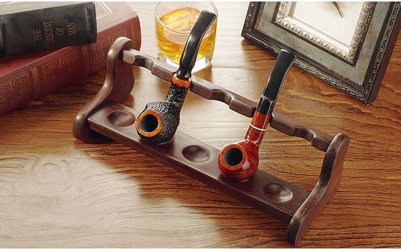 Haute qualité L-type pipe siège, 5 sièges salon Tuyau titulaire, fumer accessoires, tabac pipe stand