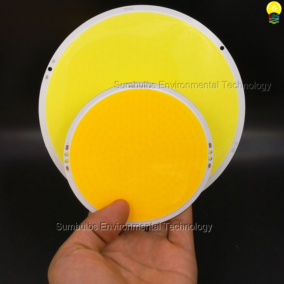 108mm 160mm Circular LED Chip COB Board Light 50W 200W Super Bright Warm Cold White Rounded COB Lamp new super bright led bulb e27 12w 16w 30w 50w 220v cold white warm white round led light lamp 5730 chip for house home office