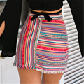 2016 New Arrival Summer Autumn Sexy Women Formal Stretch High Waist  Bodycon Pencil Skirt