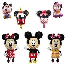 Mickey Minnie balloons cartoon modeling aluminum foil balloon party wedding birthday decoration decorations kids