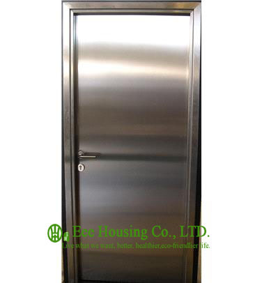 Single Leaf Stainless Steel Fire Rated Emergency Exit Door Manufactuer In China, Stainless Steel Fire Rated Emergency Exit Door
