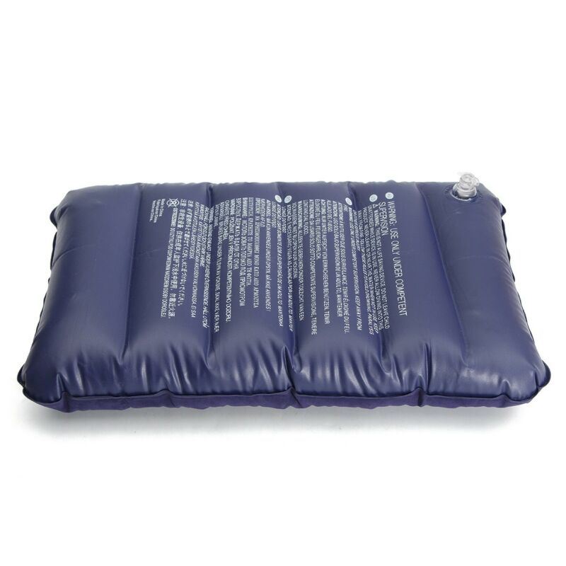 Image 5 - Foldable Pillow Outdoor Travel Sleep Pillow Air Inflatable Cushion Fr Break Rest Inflatable Portable Break Rest Pillow Blue-in Bedding Pillows from Home & Garden
