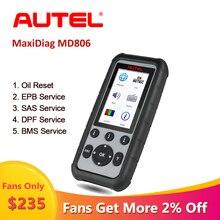 Autel MaxiDiag escáner automático MD806 obd2, herramienta de diagnóstico para coche, scania OBD, 2 Escáner automotriz profesional, automotriz em Portugal