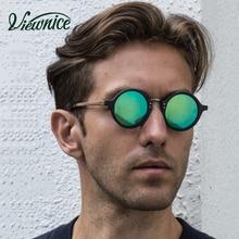 Gafas de sol hombre gafas polarizadas gafas de sol polaroid mujeres redondas 45mm azul macho pequeño conducción pesca plástico acetato