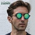 Gafas de sol Хомбре Поляризованные Солнцезащитные Очки Polaroid Круглый Женщины 45 мм Синий Мужской очки Небольшой Вождения Рыбалка пластиковые ацетат