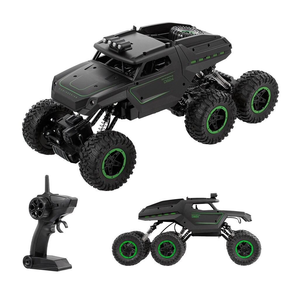 JJR/C Q51B/C 1:12 2.4 GHz 6WD RC Militaire Camion Sans Fil RC Voiture Phares Hors route voiture pour Garçons Enfants jouet amusant Cadeau