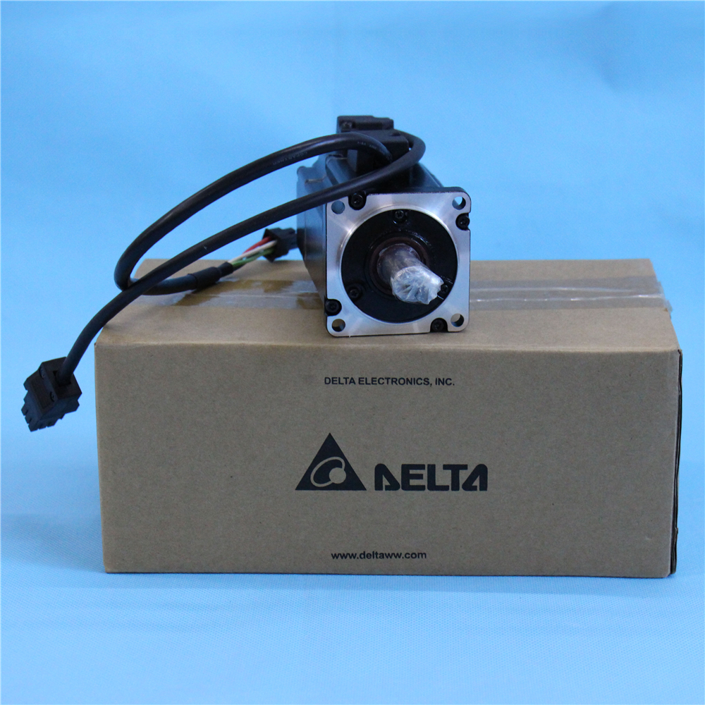 New Delta CNC Servo Motor 400W 220V AC 1.27NM 3000rpm ECMA-C10604SS with Brake Keyway & Oil Seal