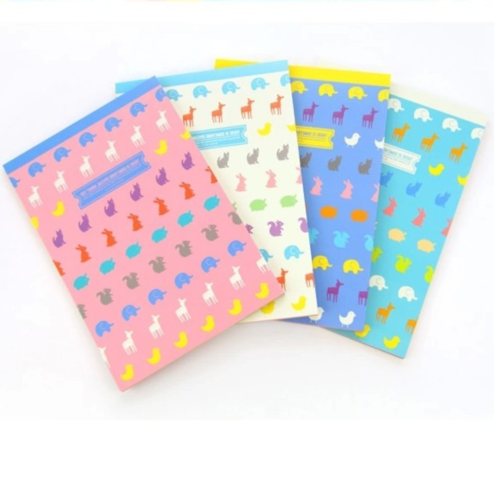 Letter paper stationery I love you multicolor letter pad Writing paper 63 sheets/set Korean stationery