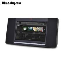 "Blueskysea Good Bluetooth WIFI Speaker Pill 8G ROM with Entrance Digital camera 7"" Contact Display Radio Black Assist 32GB TF"