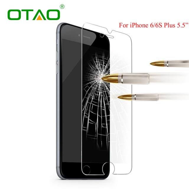 Gehard glas screen protector film voor apple iphone 6 6 s plus 5 5 S 5C SE 4 4 S HD Gehard Beschermende Guard 9 H Anti-kras