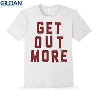 GILDAN 2017 짧은 소매 코튼 T 셔츠 남자 의류 레드 얻을 더 Campings 등산객 좋은 야외 티셔