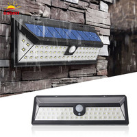 Oobest Solar Waterproof 54 LED Solar Light Garden Light Outdoor Wall Path Motion Sensor PIR Lamp