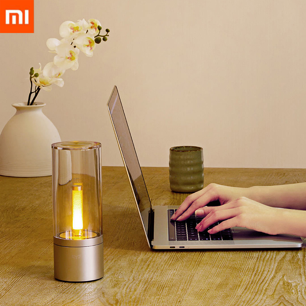 Xiaomi Mi Yeelight YLFW01YL Smart Candela Light 6W LED Wireless Mijia App Control Yellow Home Light For Atmosphere Lamp Bedroom academic listening encounters life in society listening note taking discussion teacher s manual