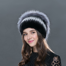 Fur Caps Woman Elegant Fashion Female Women Hats Winter Cap Fall Autumn Beanies Rabbit Knitted Hat LTGFUR Quality Free Shipping