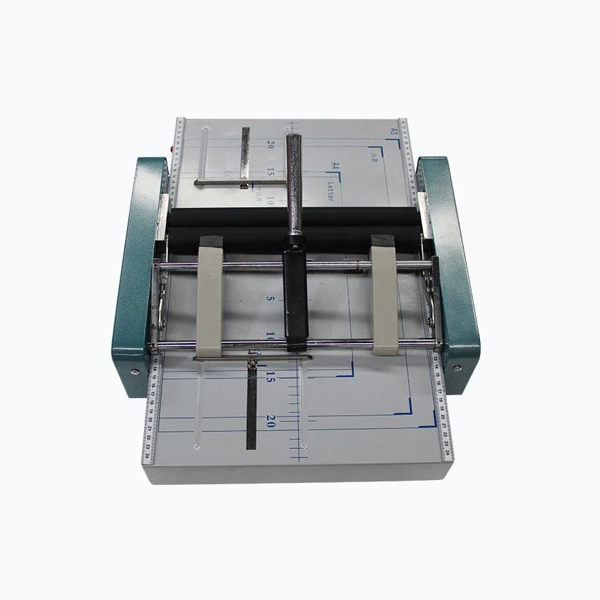 1 StÜck A3 Elektrische Falzmaschine Bindemaschinen, Sammelheft, Falzmaschine/bindemaschine 2 In1
