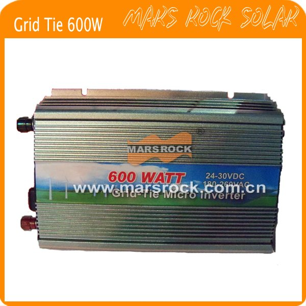 600W (10.5-28VDC) micro grid tie PV inverter, for 18V 720W solar panel with CE&RoHS approved, Free shipping! 750w 24v 10a solar inverter with controller can resist impact of large current starting loads ce iso approved