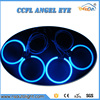 4 pcs 120mm ccfl rings angel eye kit for BMW E30 E32 E34 with invertes ballast White/Blue/Green/Yellow/Rlue/Purple