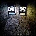 garden decoration solar lamp outdoor light  wall solar energy lamp post small courtyard villa walls waterproof decorative