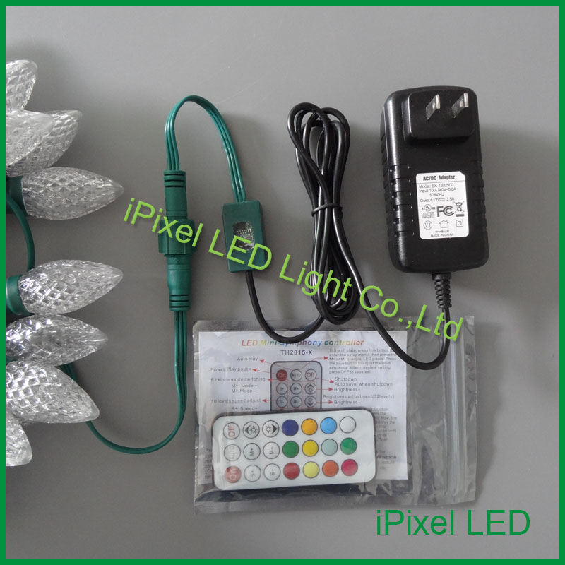 DC12V Power Supply And Controller For C7 Christmas Led String Lights